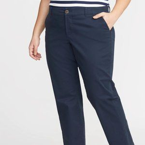 Old Navy Plus-Size Everyday Boot-Cut Khakis New